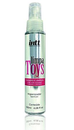 Limpa Toys Intt Higienizador de Brinquedos Eróticos 120 ml
