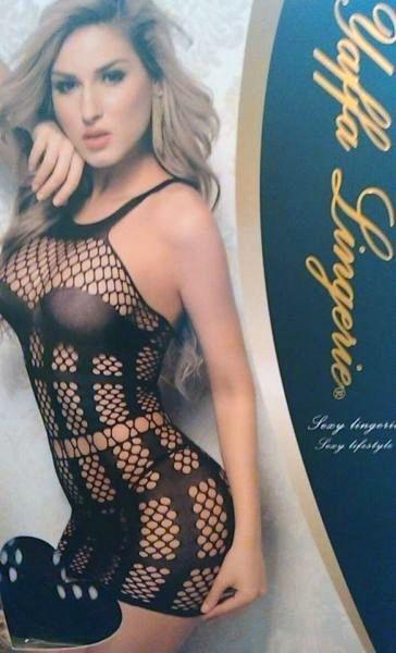 Mini Vestido Yaffa Lingerie - Y3669