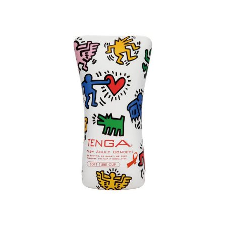 Tenga - Keith Haring Cup Soft Tube - KHC102