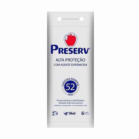 Preservativo Preserv Alta Proteção com 6 Unidades