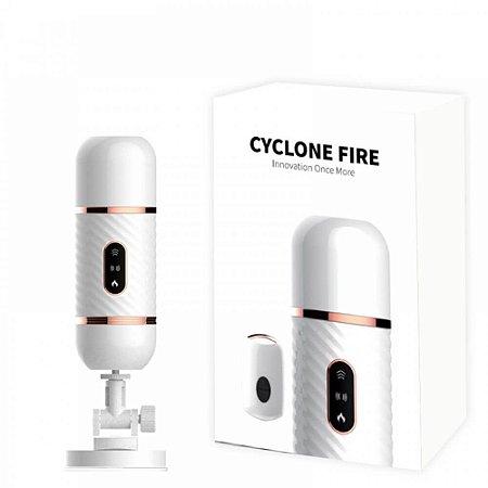 Cyclone Fire Dibe Máquina do sexo pênis que vibra e aquece com 7 modos de vibração e movimentação - 5844