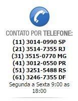 Telefones de Contato