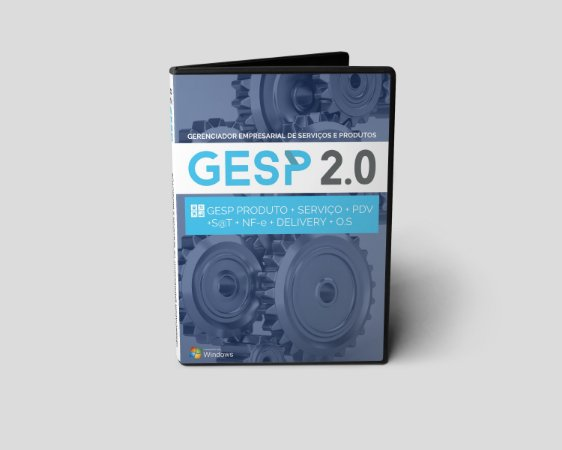 Gesp 2.0 Completo - Produto / Serviço / PDV / rotina S@T / NF-e / Delivery / O.S.