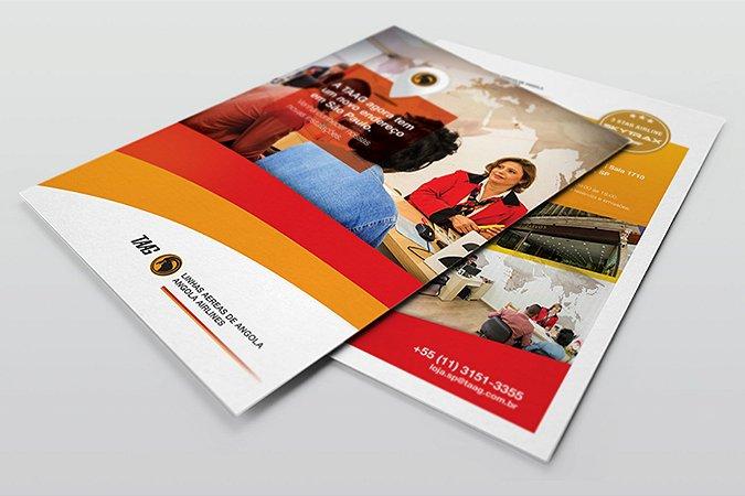 Folhetos 10x14cm - Couchê 90g - Colorido Frente e Verso