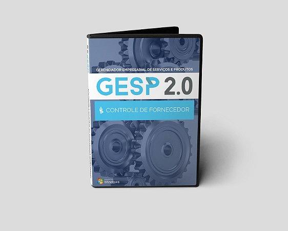 Gesp 2.0 - Controle de Fornecedor
