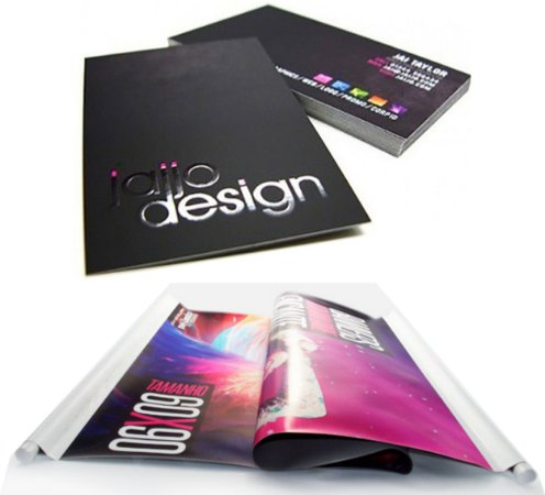 Cartão de Visita - Couchê 300g - Laminação Fosca + Verniz Local - Colorido Frente e Verso + Banner 70x90cm