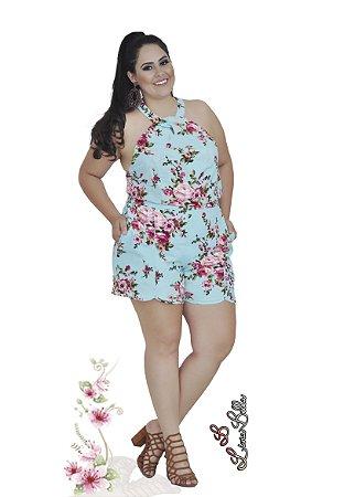 conjunto  floral alto verão