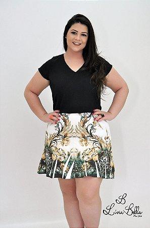 """Vestido  combinação Saia+Blusa.  Coleção """"LUST"""" Primavera verão 2018."""