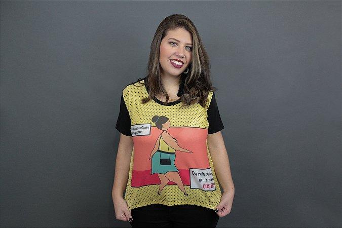 Camiseta Plus Size Toni Minissaia