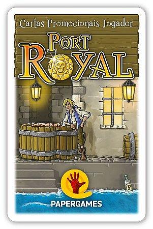 "Port Royal - Cartas Promocionais ""Jogador"""