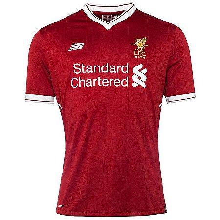 Camisa New Balance Liverpool 2017/18