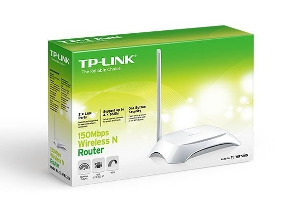 Roteador Wireless N 150Mbps TP-Link TL-WR720N antena externa