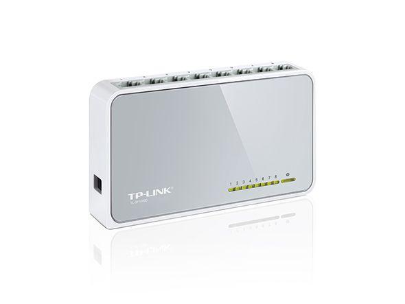 Switch 8 portas 10/100Mbps TL-SF1008D Tp Link