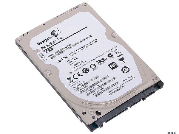 HD Notebook SATA3 500 Gb Seagate ST500LT012 5400 RPM 16 Mb 7 mm Slim