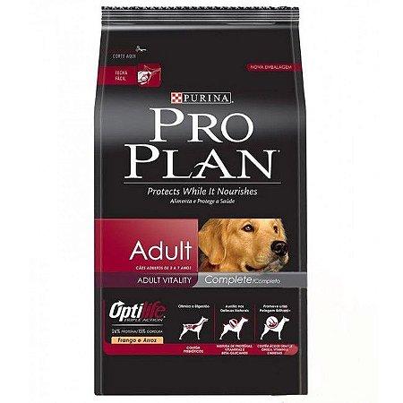 Ração Pro Plan Adulto Complete 15kg
