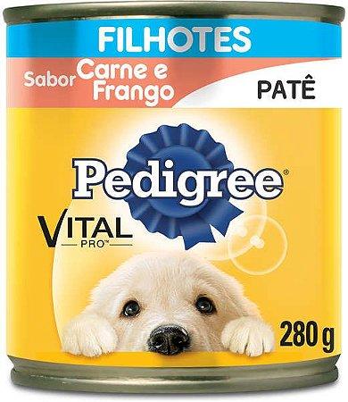 Ração Pedigree Lata Carne/Frango 280G