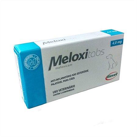 Meloxitabs 4,0Mg C/5 Cp