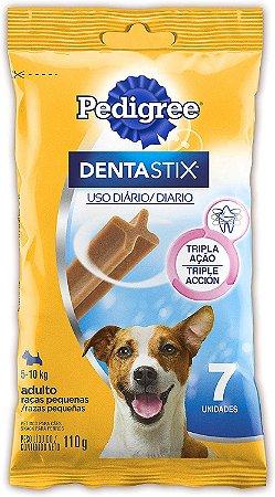 Petisco Pedigree Dentastix Cuidado Oral Para Cães Adultos Raças Pequenas C/7