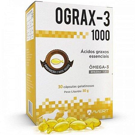 Avert Ograx-3 1000Mg 30 Cap