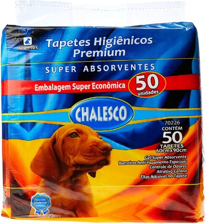 Tapete Higiênico Chalesco 50 Unid.