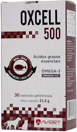 Avert Oxcell 500 C/30 Cápsulas