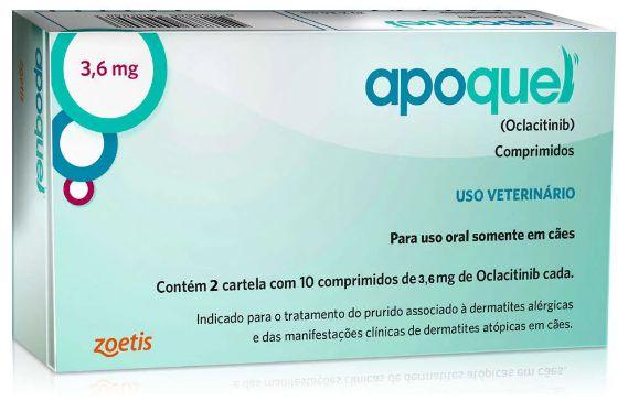 Apoquel Dermatológico Zoetis para Cães (3,6mg e 5,4mg)