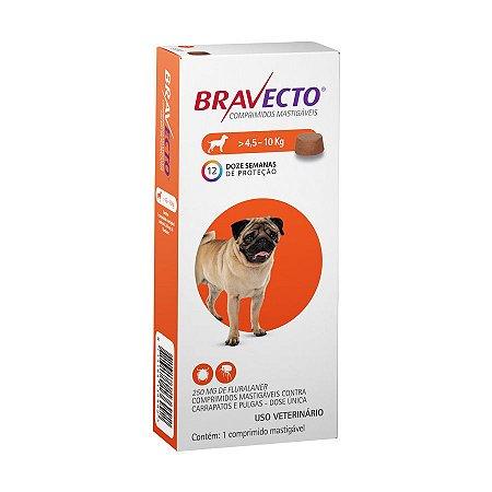 Bravecto Caes 4,5 -10Kg
