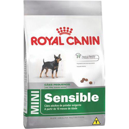 Ração para Cães Adultos Raças Mini Royal Canin Sensible