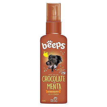 Deo Colônia Beeps Body Splash Chocolate Com Menta 120ml