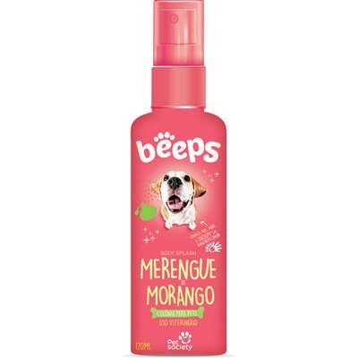 Deo Colônia Beeps Body Splash Morango 120ml
