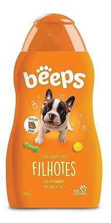 Shampoo Filhotes de Cães e Gatos Beeps 500ml Pet Society