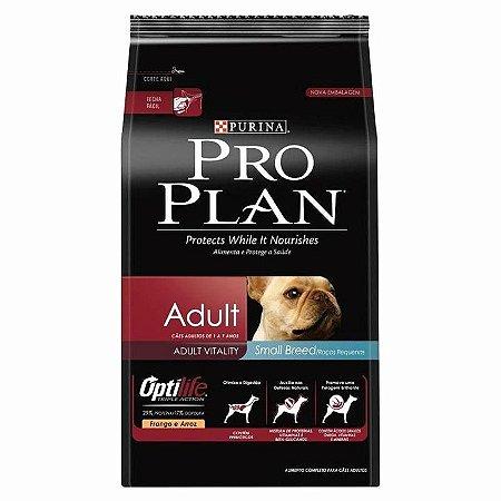 Ração Pro Plan Small Breed Raças Pequenas Adulto Cães 7,5kg