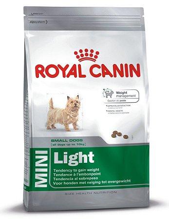 Ração Royal Canin Mini Light 3kg e 7,5kg