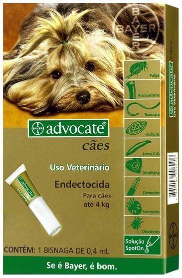 Advocate Cães Até 4kg