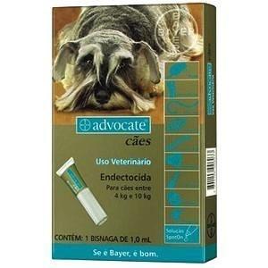 Advocate Cães 4 à 10kg