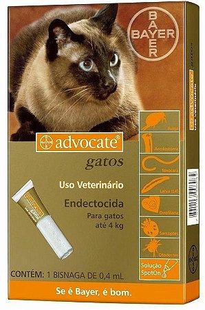 Advocate Gatos até 4 kg