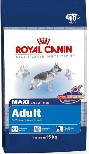 Ração Royal Canin Maxi Adult 15kg  * IMPERDÍVEL