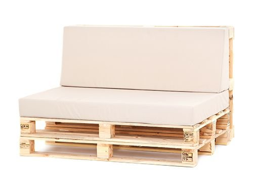 Sofá com encosto com almofada 2 lugares -  venda e locação consulte modelos