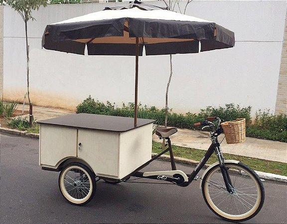 Food Trike Triciclo Bike - Invista Seu Fgts Abra Seu Negócio