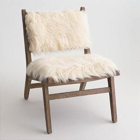 Pelego para decoração eventos / cadeiras