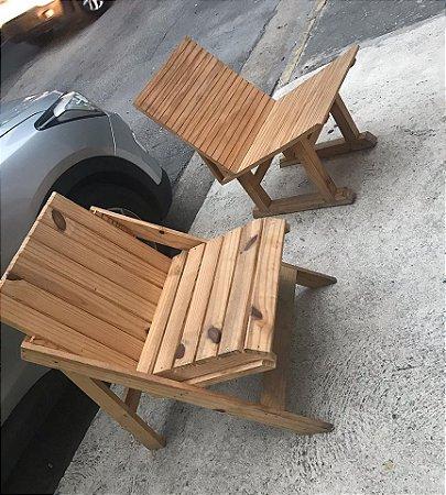 Cadeira outdoor de pallet