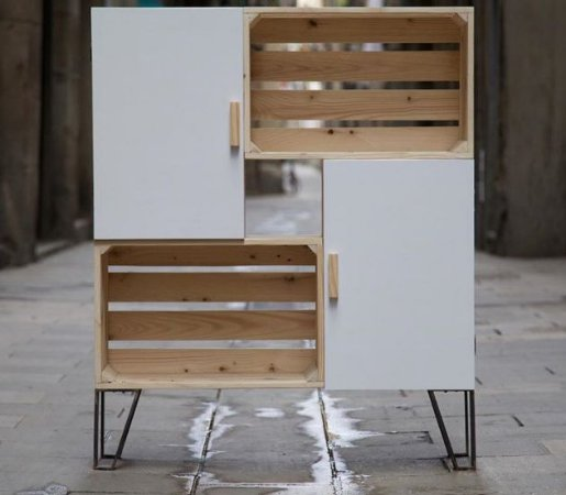 Armário pallet +mdf- somente venda