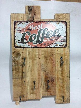 Quadro porta canecas coffe- somente venda