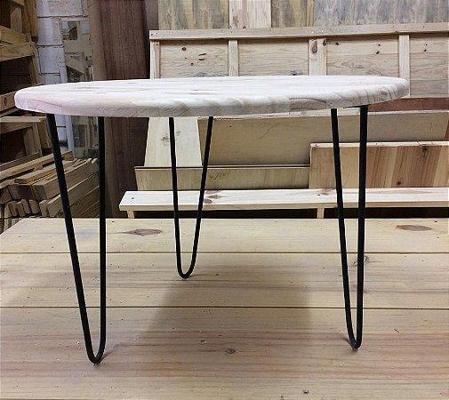 mesa lateral para apoio hairpin - somente venda