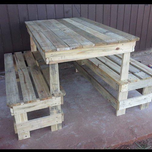Mesa rústica 140 cm para 4 pessoas