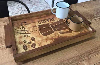 Bandeja Coffe Pallet