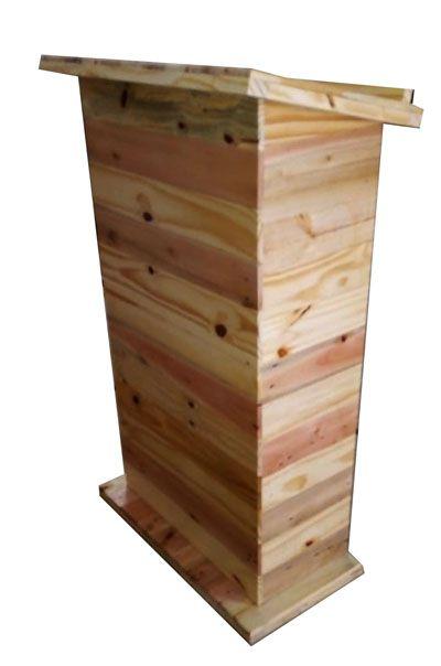 Pulpito de madeira pallet