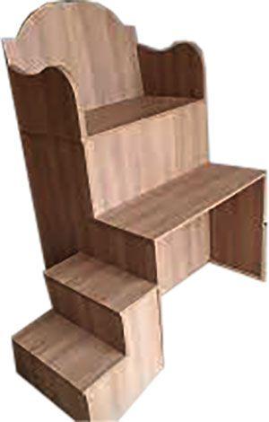 Cadeira para manicure / pedicure em MDF ou Pinus