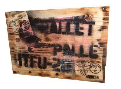 Painel decorativo industrial