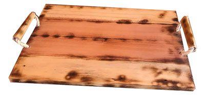 Bandeja palete e bambu